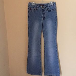 Bundle 4 pairs girl's size 12 flare jeans